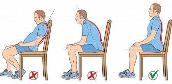 Как правильно сидеть при болях в спине